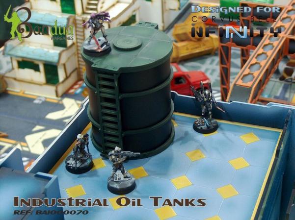 Terrain Accessories: Industrial Oil Tanks [Infinity]