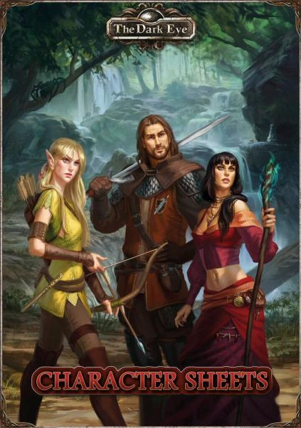 The Dark Eye RPG: Character Sheets