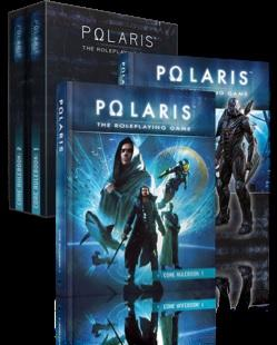 Polaris RPG: Core Rulebooks, 2-Book Set