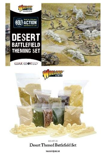 (Terrain) Desert Themed Battlefield Set