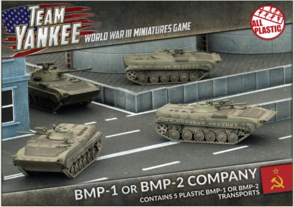 Flames Of War (Team Yankee): (Soviet) BMP-1/BMP-2 Company (Plastic)