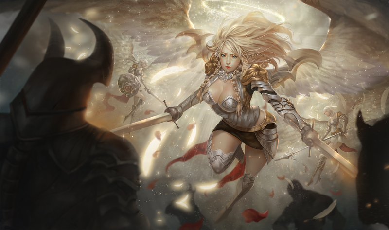 Art Table Mat: Warbreaker's Light (8ft)