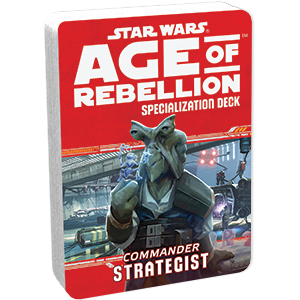 Age of Rebellion RPG: Strategist Specialization Deck