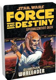 Force and Destiny RPG: Warleader Specialization Deck