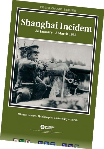Folio Game Series: Shanghai Incident, 28 January-2 March 1932