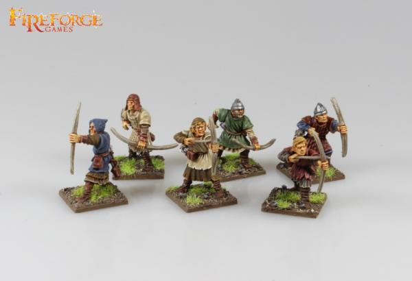 28mm Deus Vult: Crusader Archers (6)