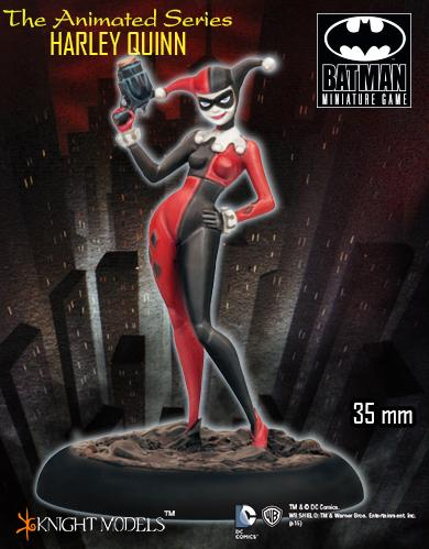 Batman Miniature Game: Animated Series Harley Quinn