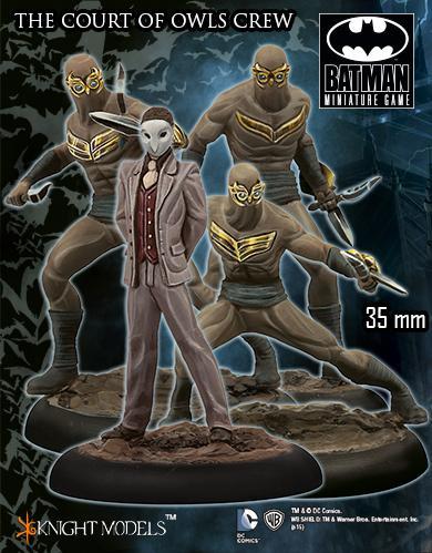 Batman Miniature Game: The Court Of Owls Crew