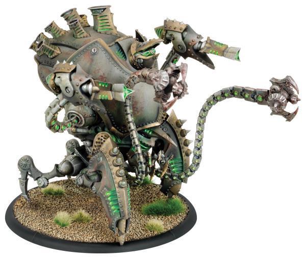 Warmachine: (Cryx) Kraken/Sepulcher Colossal (plastic)