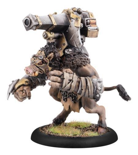 Hordes: (Minions) Gun Boar, Farrow Light Warbeast (plastic)