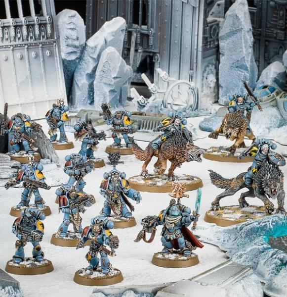 Warhammer 40K: Start Collecting!  Space Wolves