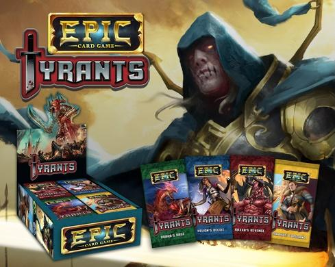 Epic Card Game: Tyrants Expansion (1 random booster pack)