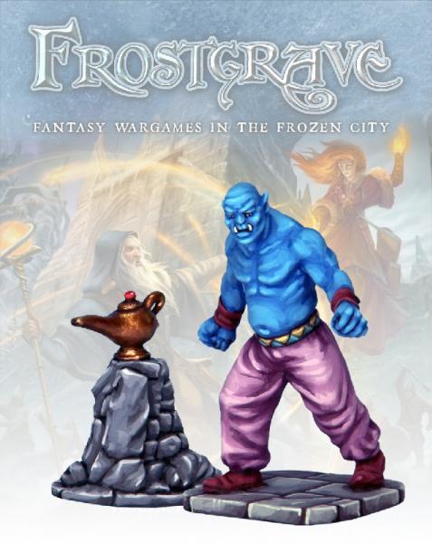 Frostgrave: Genie & Lamp