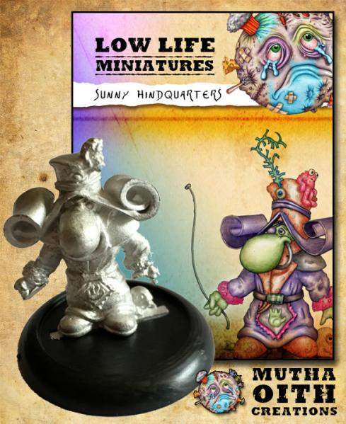 Low Life Miniatures: Sunny Hindquarters