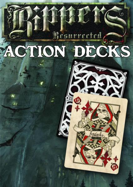 Savage Worlds RPG: Rippers Resurrected Double Action Decks