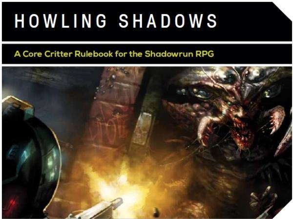 Shadowrun RPG: Howling Shadows