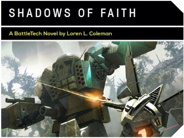 BattleTech: Shadows Of Faith [Novel]