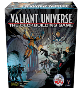 Legends Rising: The Valiant Universe Deck Building Game