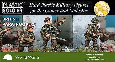 15mm WWII: (British) Paratroopers 1944-45