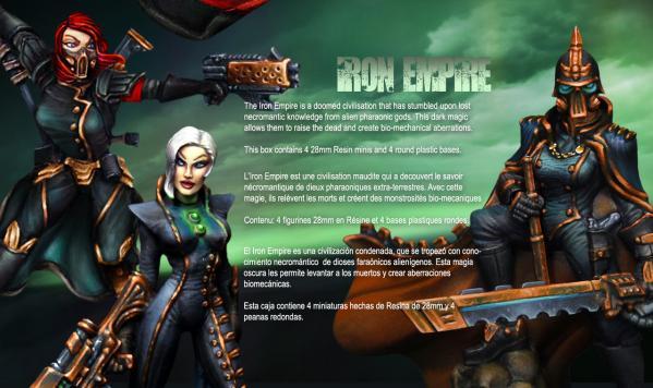 Raging Heroes: (Iron Empire) Character Heroines Box 1
