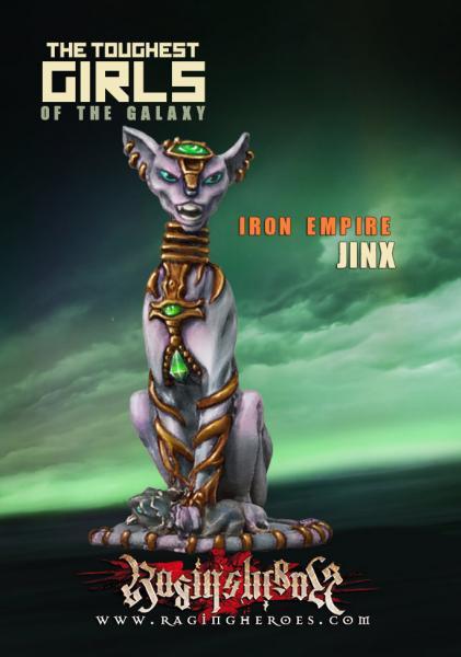 Raging Heroes: (Iron Empire) Jinx, Mascot