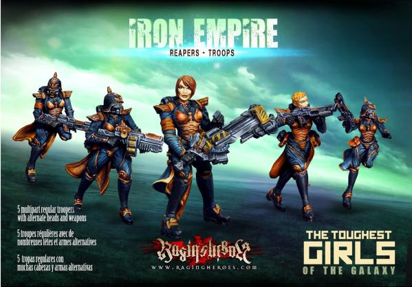 Raging Heroes: (Iron Empire) Reapers Troops