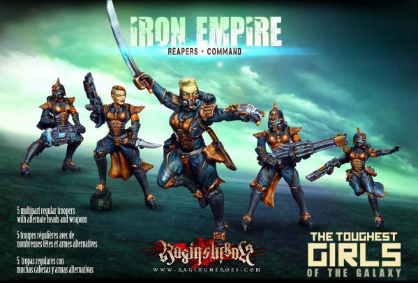 Raging Heroes: (Iron Empire) Reapers Command