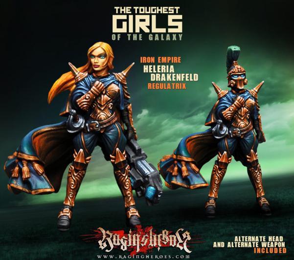 Raging Heroes: (Iron Empire) Heleria Drakenfeld, Regulatrix
