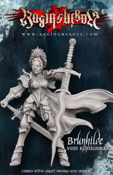 Raging Heroes: (Iron Empire) Brunhilde Von Konigsmark