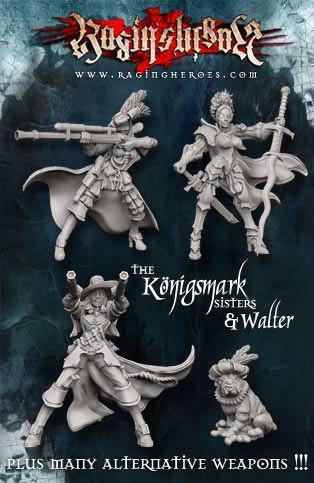 Raging Heroes: (Iron Empire) The Von Konigsmark Limited Edition Box