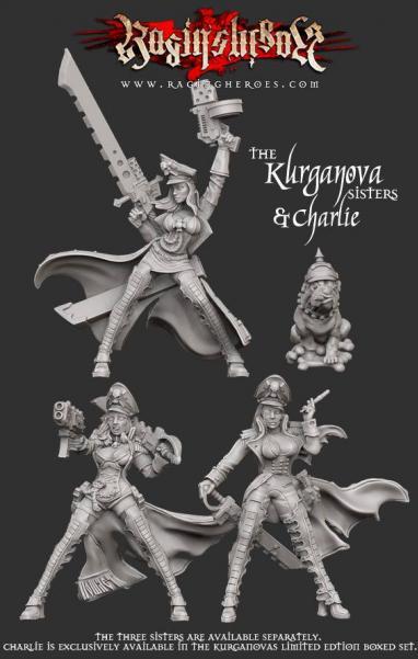 Raging Heroes: (Kurganova Shock Troops) Character (Heroes) Box KST 6: The Kurganov