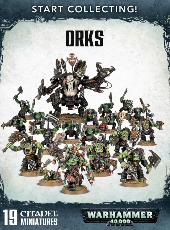 Warhammer 40K: Start Collecting!  Orks