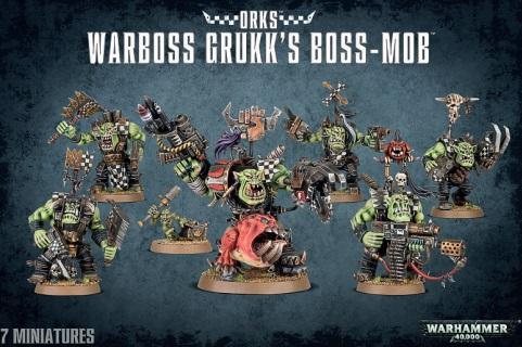 Warhammer 40K: Warboss Grukk's Boss-Mob