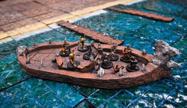 Boat, Goblin Raider (4''x10'')