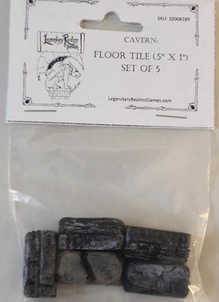 Cavern Floor Tile .5''x1'' (5)