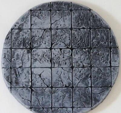 6'' Round Dungeon Floor Tile
