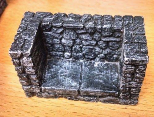 Dungeon Hallway Dead End 1''x2''