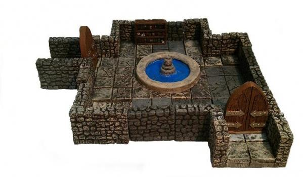 Dungeon Set: Wizard's Scrying Chamber