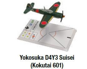 Wings Of Glory WWII: Yokosuka D4Y3 Suisei (Kokutai 601)