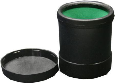 Plastic Round Dice Cup With Twist Cover
