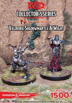 D&D Collector's Series: Valindra Shadowmantle & Wight