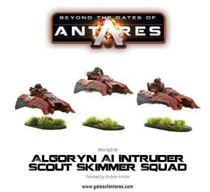 Beyond The Gates Of Antares: (Algoryn) AI Intruder Scout Skimmer Squad