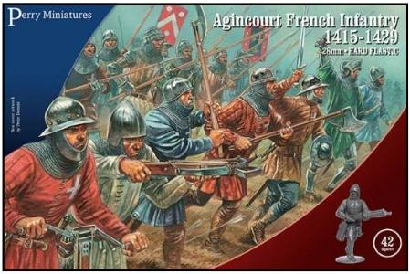 28mm Hundred Years War: (French) Agincourt Infantry, 1415-1429