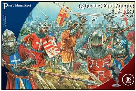 28mm Hundred Years War: Agincourt Foot Knights, 1415-1429