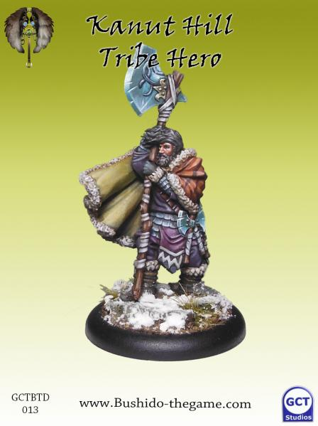 Bushido Miniatures: (Tengu Descension) Kanut