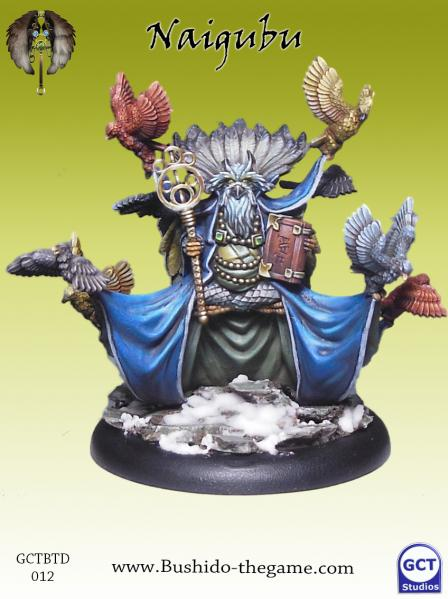 Bushido Miniatures: (Tengu Descension) Naigubu