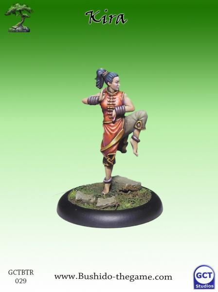 Bushido Miniatures: (Temple Of Ro-Kan) Kira