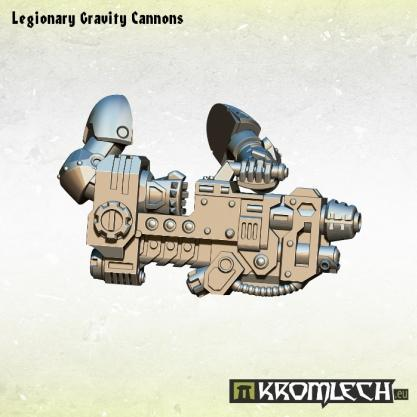Kromlech Conversion Bitz: Legionary Gravity Cannons (3)