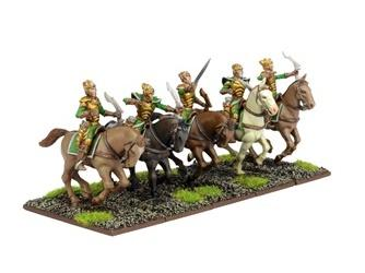 Kings Of War, 2nd Edition: (Elf) Silverbreeze Cavalry