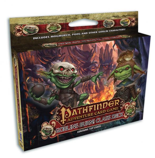 Pathfinder Adventure Card Game: (Class Deck) Goblins Burn!